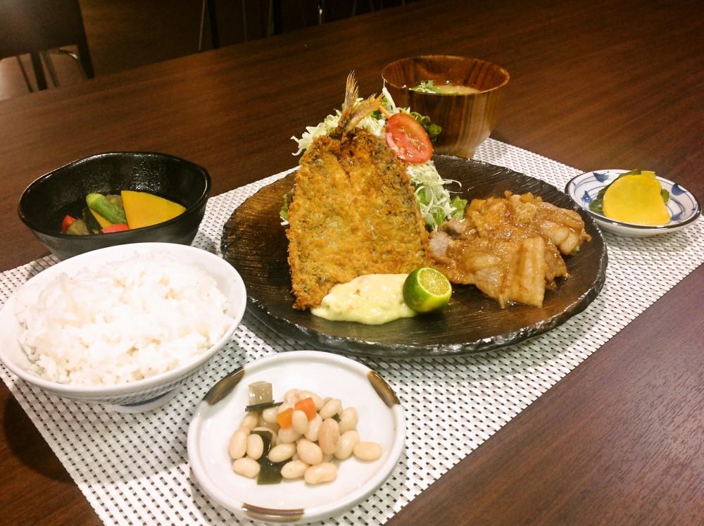 buta_shogayaku_aji_fry