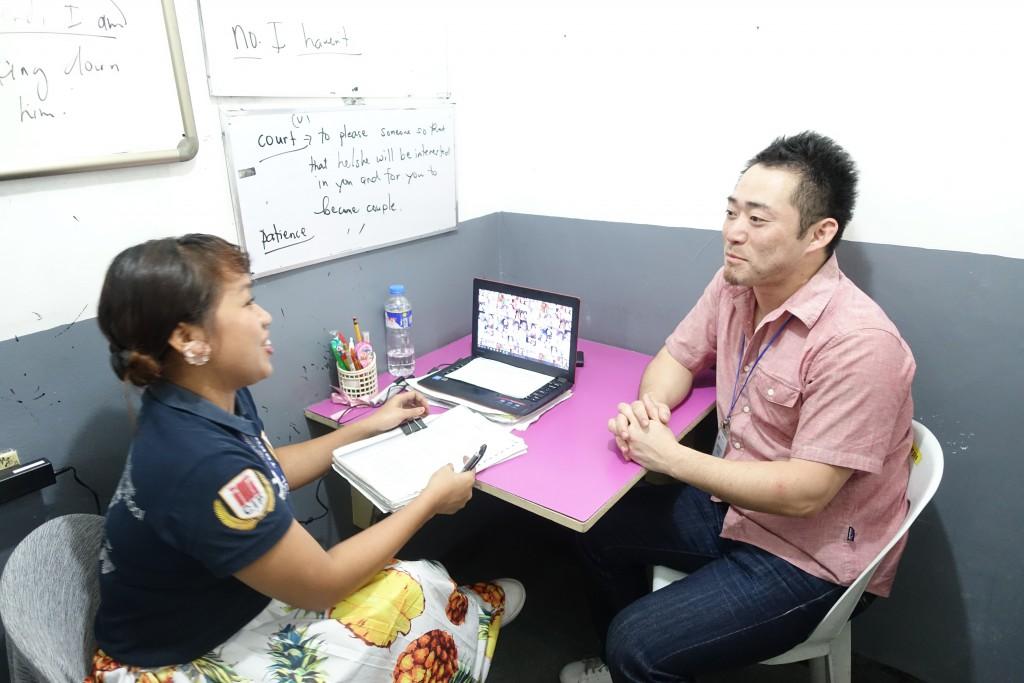 マンツーマンでIELTS対策ができるのがフィリピンのメリット