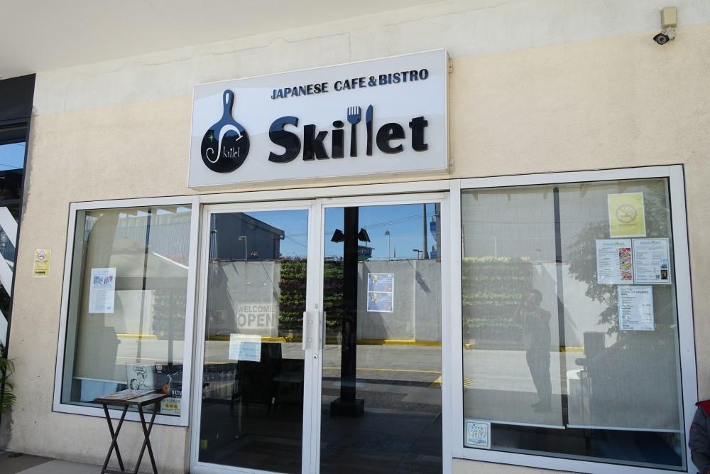 同じ建物内にある日本人経営レストランSkillet